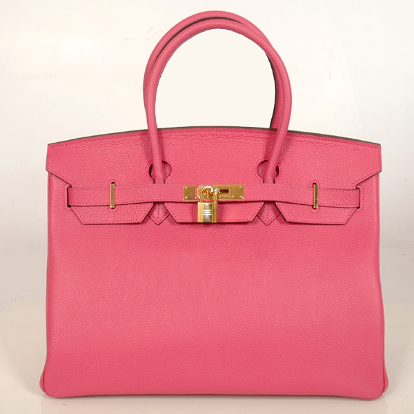 H35PBJSG Hermes Birkin togo leather 35CM Peach togo(Gold)
