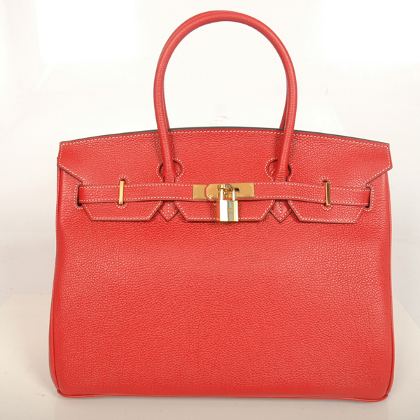 H35FBJSG Hermes Birkin togo leather 35CM Flame togo(Gold)
