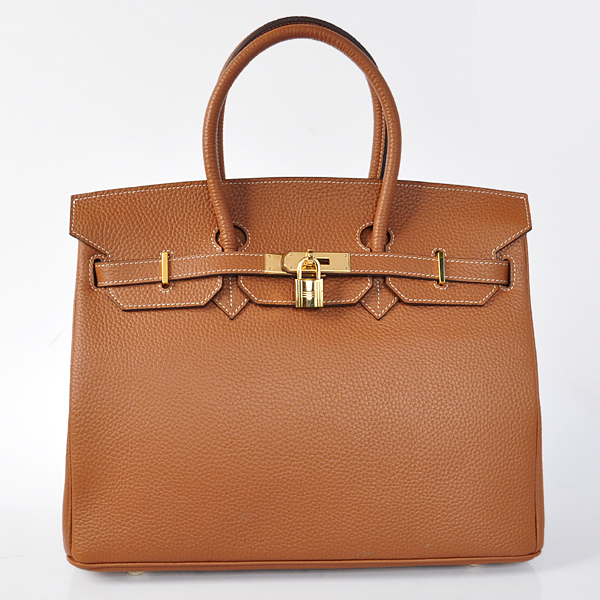 H35DWLSG Hermes Birkin 35CM Dark Wheat clemence leather(Gold)