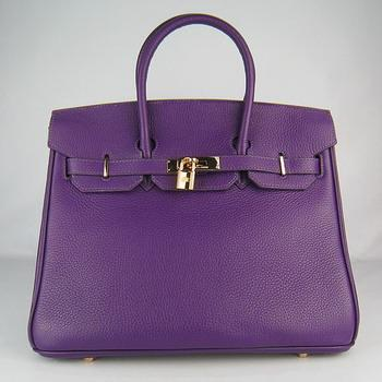 HBK35OPG018 Hermes 35CM Purple (gold)