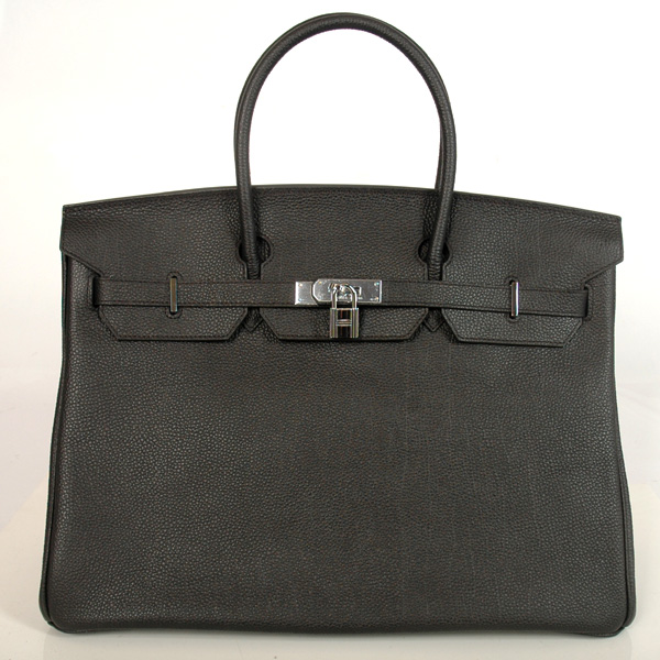 H40BJBS Hermes Birkin togo leather 40CM togo in Black with Silver hardware