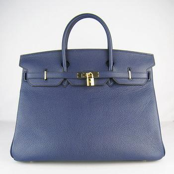 HBK40DBG004 Hermes 40CM Dark Blue (gold)