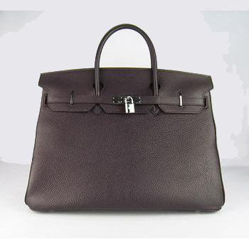 HBK40DCS003 Hermes 40CM Dark Coffee (silver)