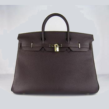 HBK40DCG003 Hermes 40CM Dark Coffee (gold)