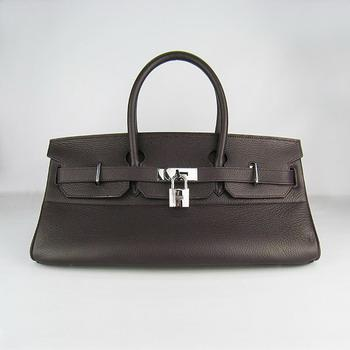 HBK42DCS003 Hermes 42CM Dark Coffee(silver)