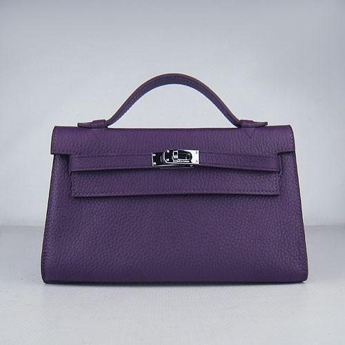HKL2200PS028 HERMES 22CM H008 Purple(Silver)