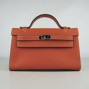 HKL22CNSO017 Hermes Kelly 22CM Cattle Neck Stripe Orange