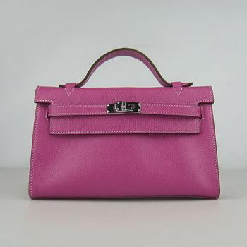 HKL22CNSP013 Hermes Kelly 22CM Cattle Neck Stripe Peach