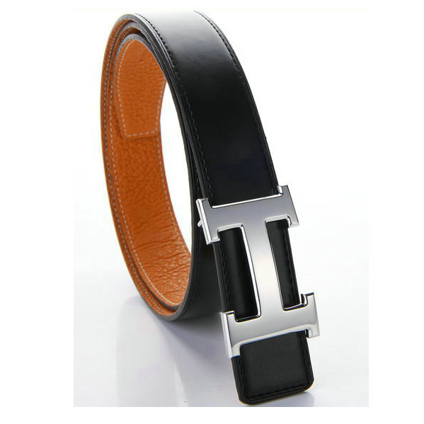 HB107 Hermes Calf Leather Belt HB106