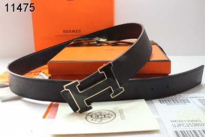 Hermes Belt with Black H Buckle Mens Black Sale