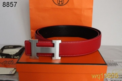 Belt Mens Hermes Rose with Silver H Buckle Clearance